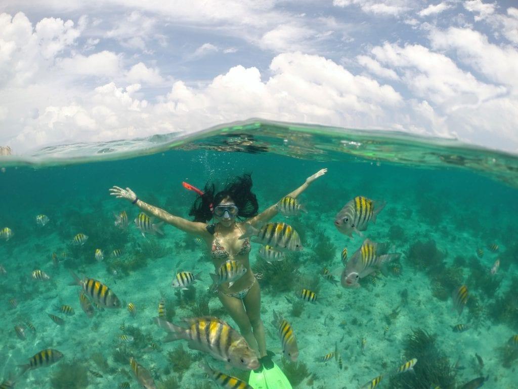 Mergulho em Isla Mujeres