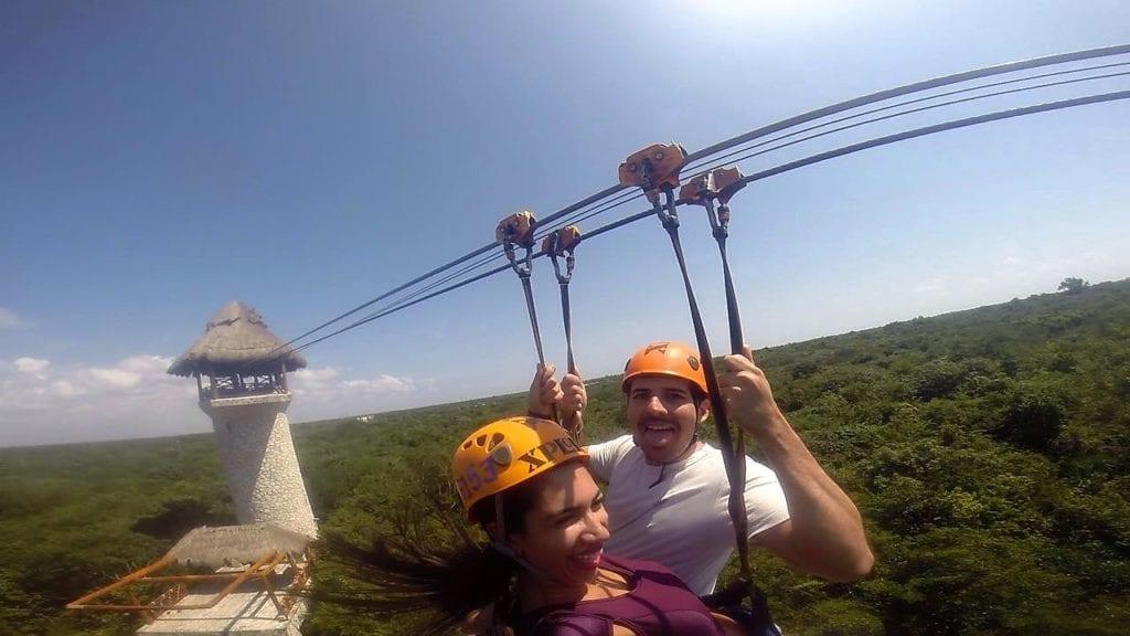 Muita adrenalina no Xplor!