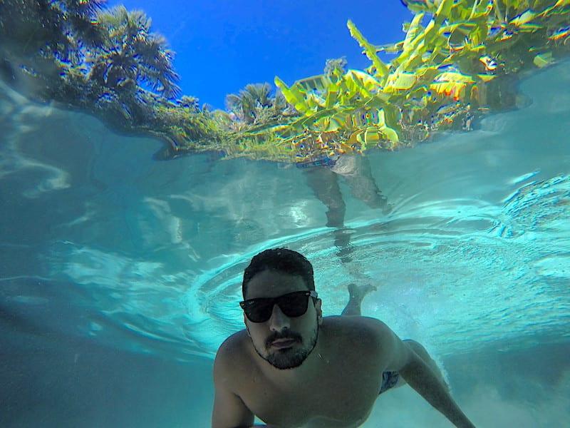 Jalapão e seus fervedouros de água cristalina | Foto: Anna