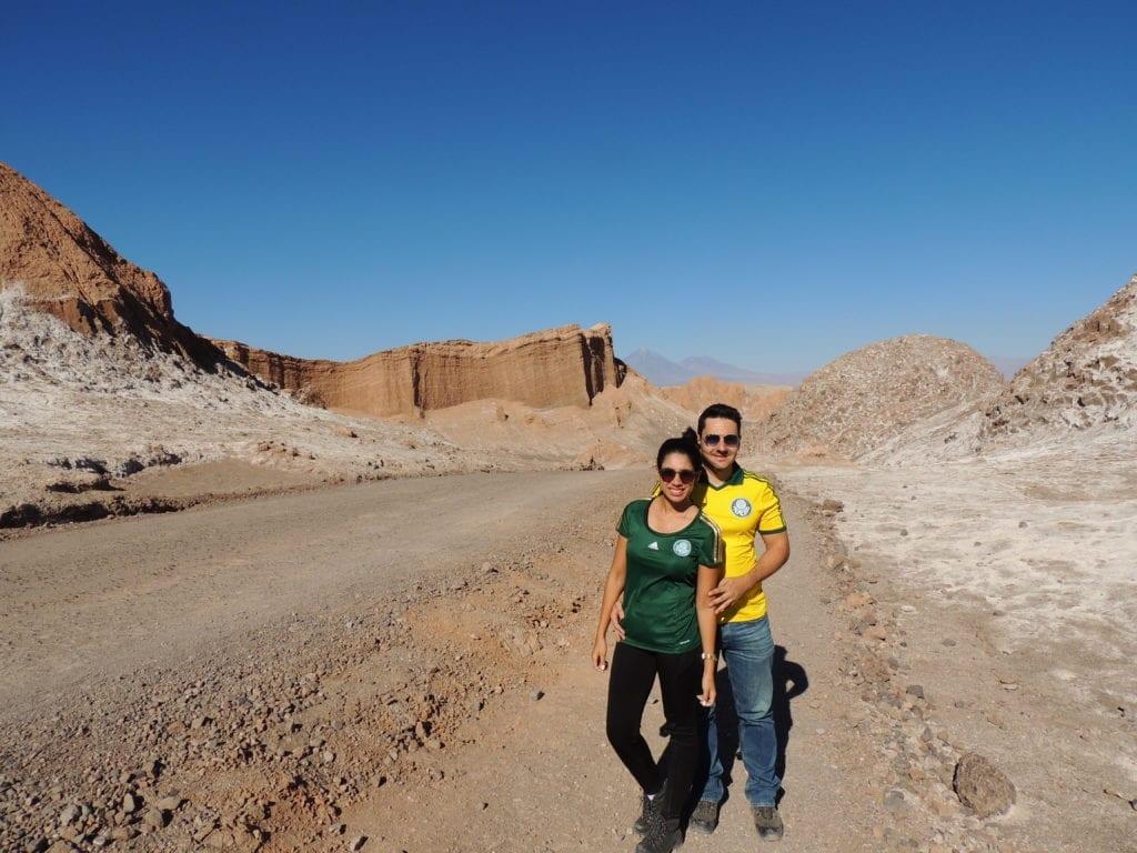 Vale da Lua - deserto do Atacama