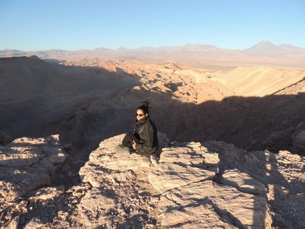 Vale da Muerte - deserto do Atacama