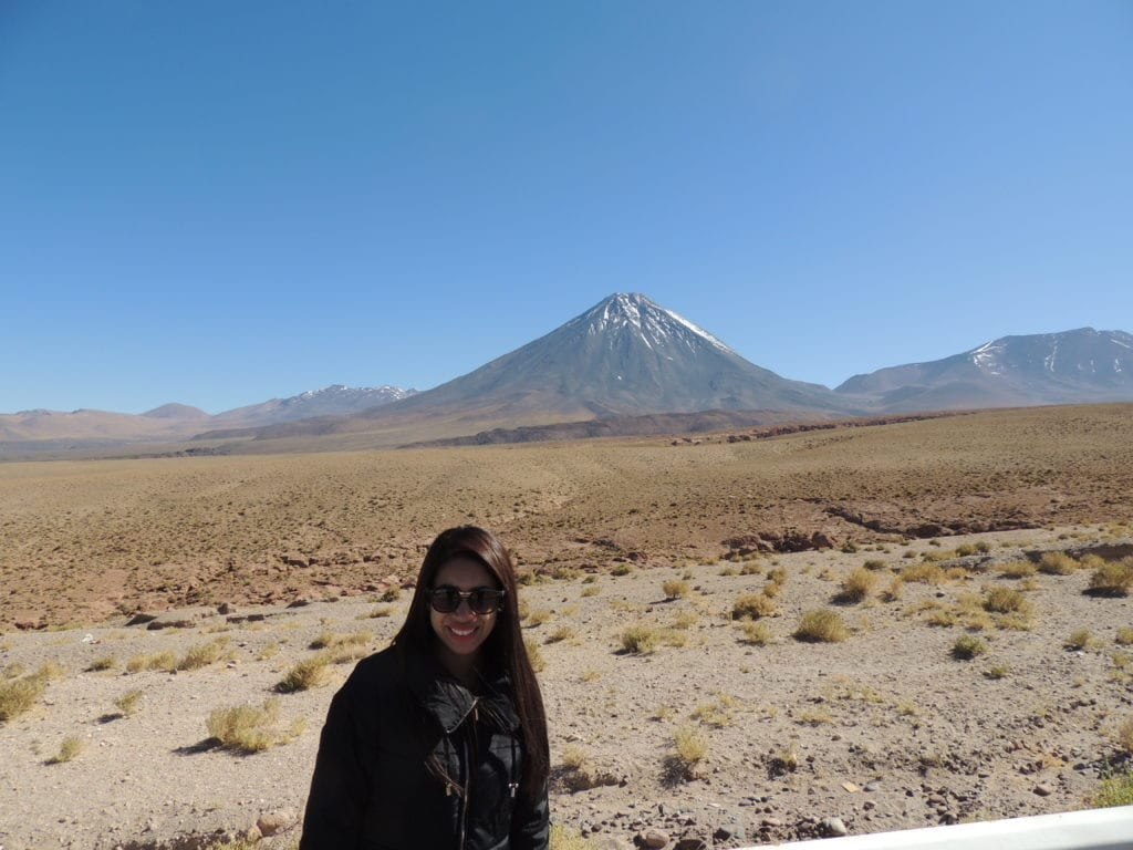 Uma das paradas no caminho - Vulcão Licancabur - deserto do Atacama