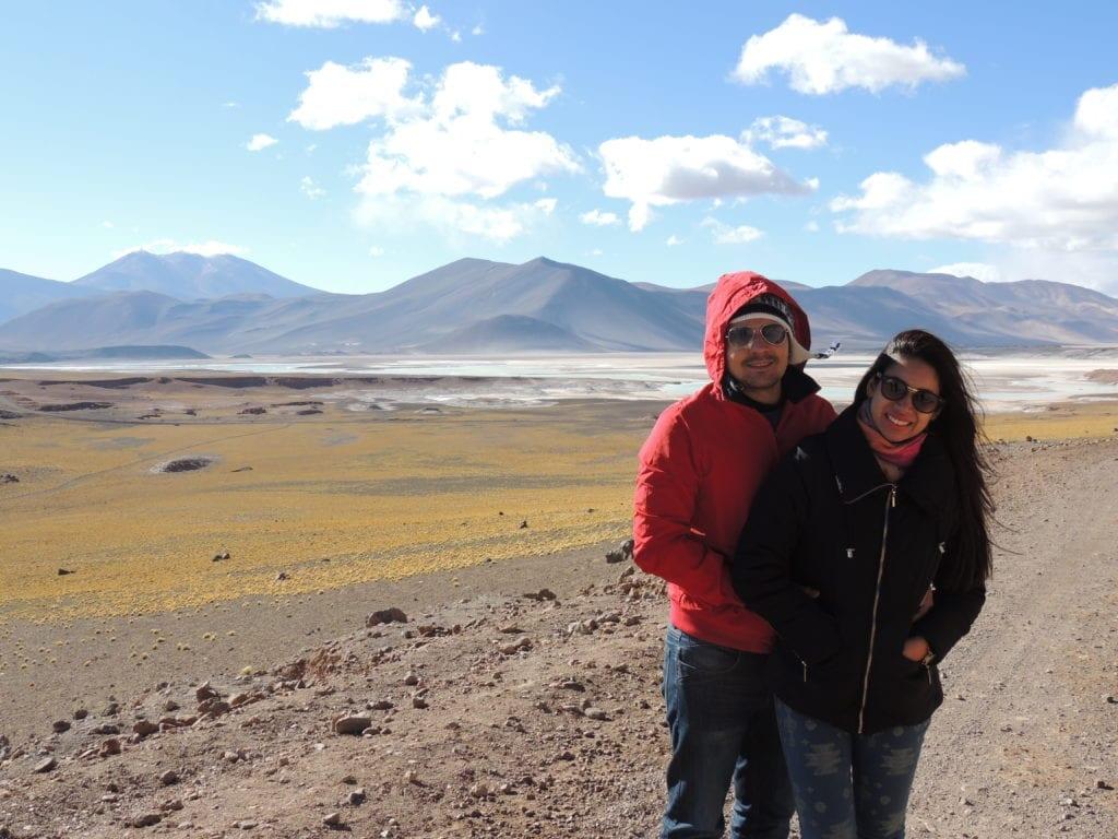 Paisagens que parecem quadros pintados à mão? Você encontra aos montes no deserto do Atacama