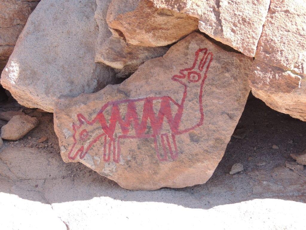 Petroglifos - deserto do Atacama