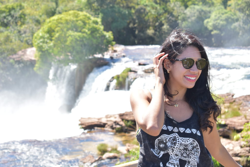 Cachoeira da Velha vista de cima - Jalapão