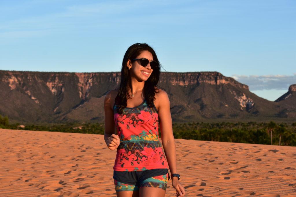 Dunas e vista para a Serra do Espírito Santo - Jalapão