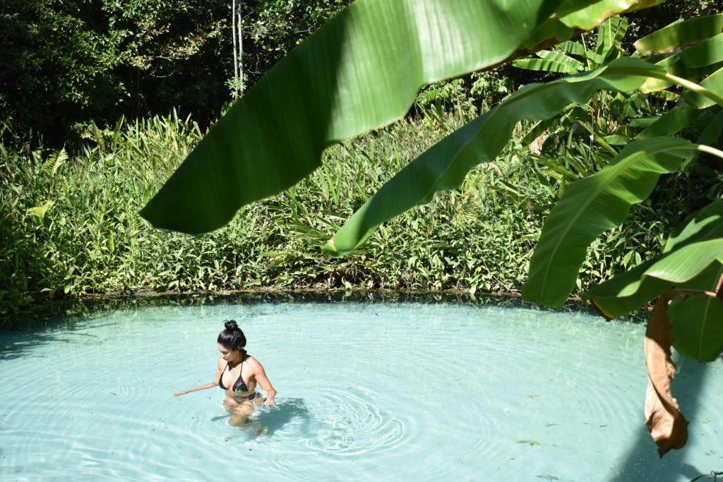 Fervedouro Buritis e sua água azul linda