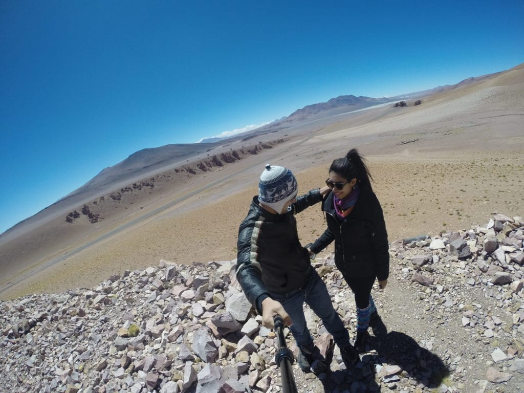 Salar de Tara - o passeio de maior altitude que fizemos no Atacama