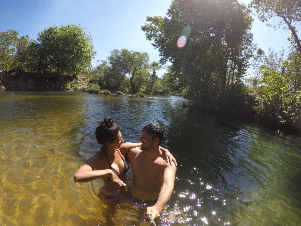 Rio Encontro das Águas - Jalapão