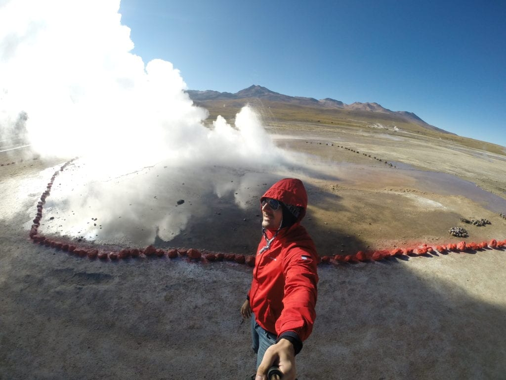 Geisers del Tatio - deserto do Atacama