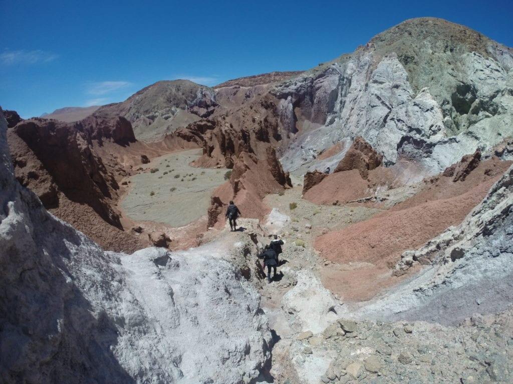 Vale do Arco-Íris - deserto do Atacama