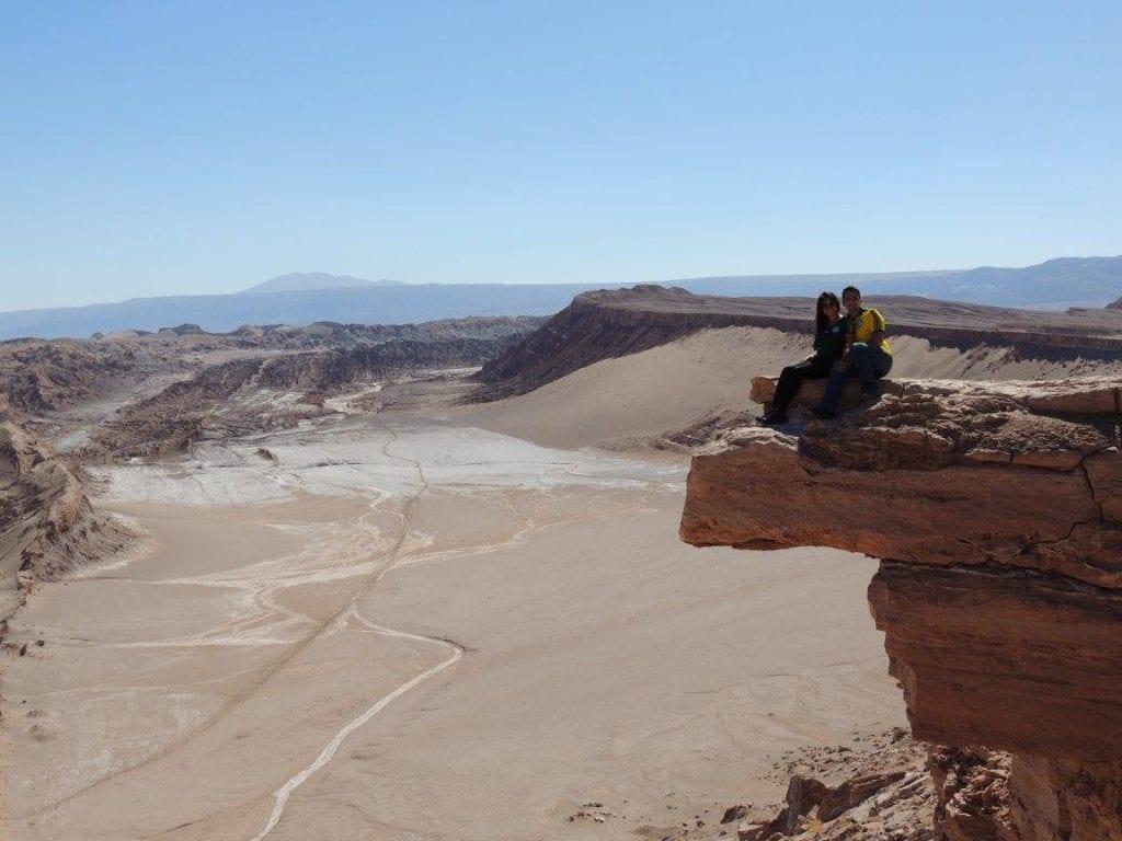 Piedra del Coyote - deserto do Atacama