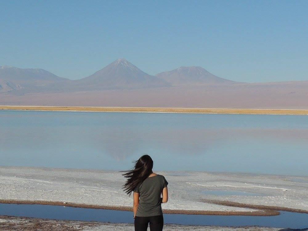 Laguna Tebinquinche - deserto do Atacama