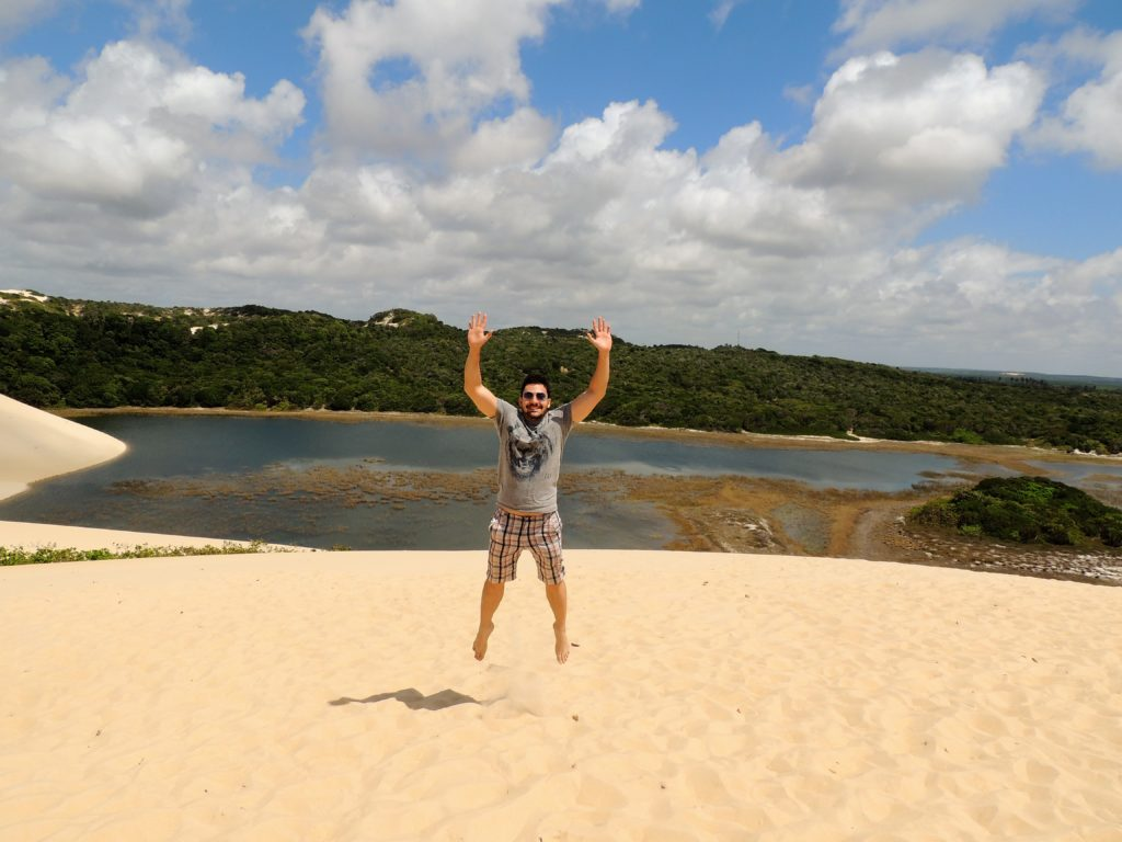 Dunas e lagoa de Genipabu - Natal
