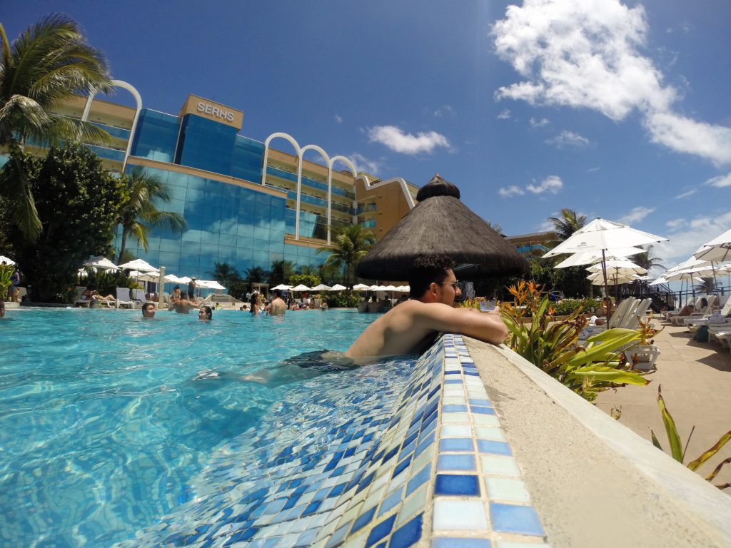 Piscina do Hotel Serhs - Natal