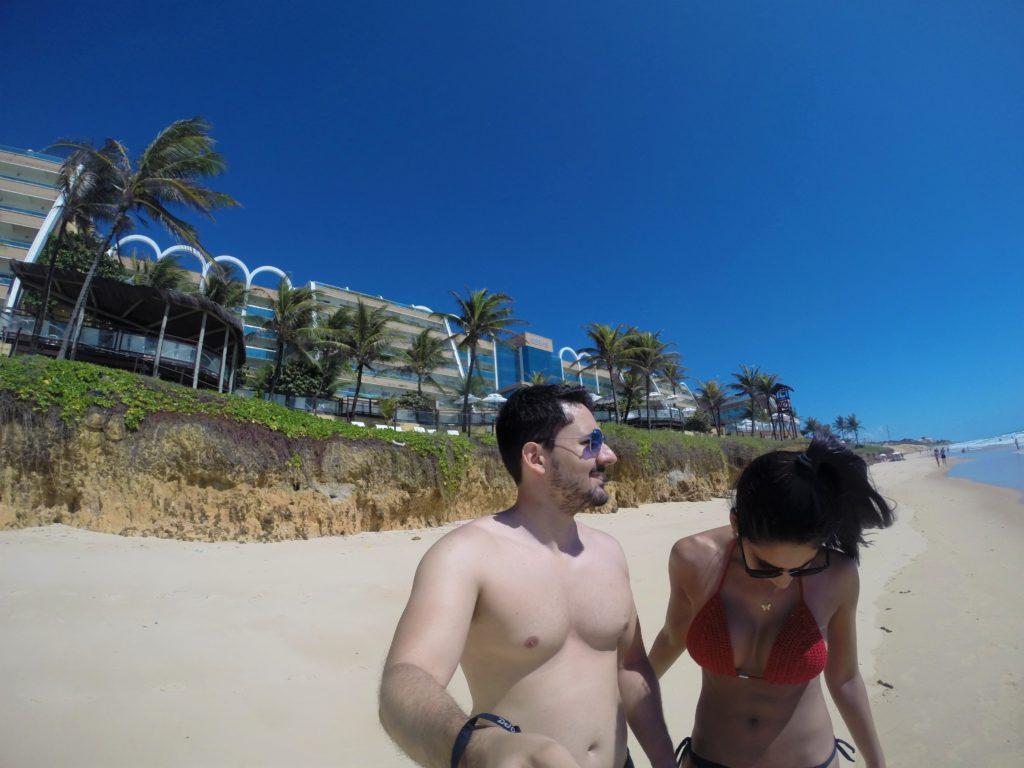Praia privativa do Hotel Serhs - Natal