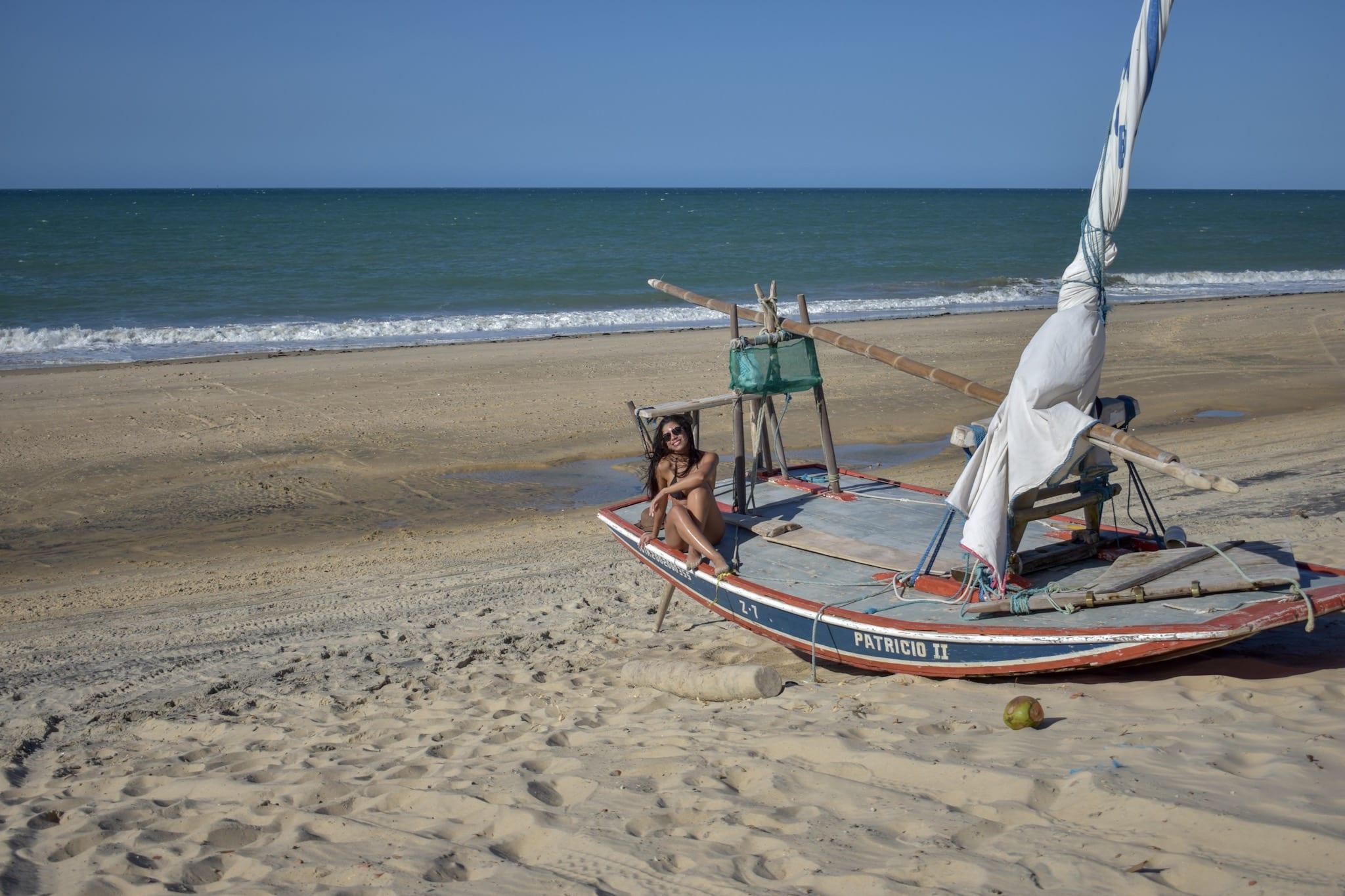 Uma das paradas do passeio de buggy na Praia do Cumbuco - Fortaleza