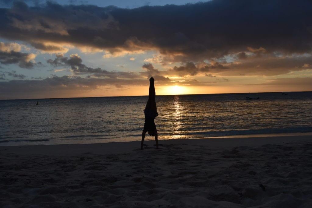 2-Por do sol em Le Morne - Mauritius