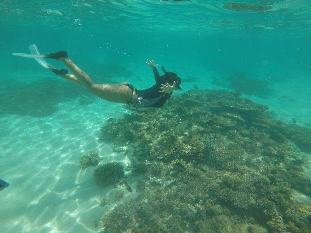 Snorkeling em Belle Mare - Mauritius