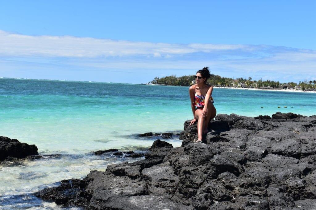 Praia de Belle Mare- Mauritius