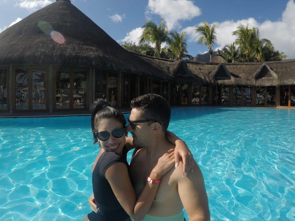 Piscina do hotel RIU Creole - Le Morne - Mauritius