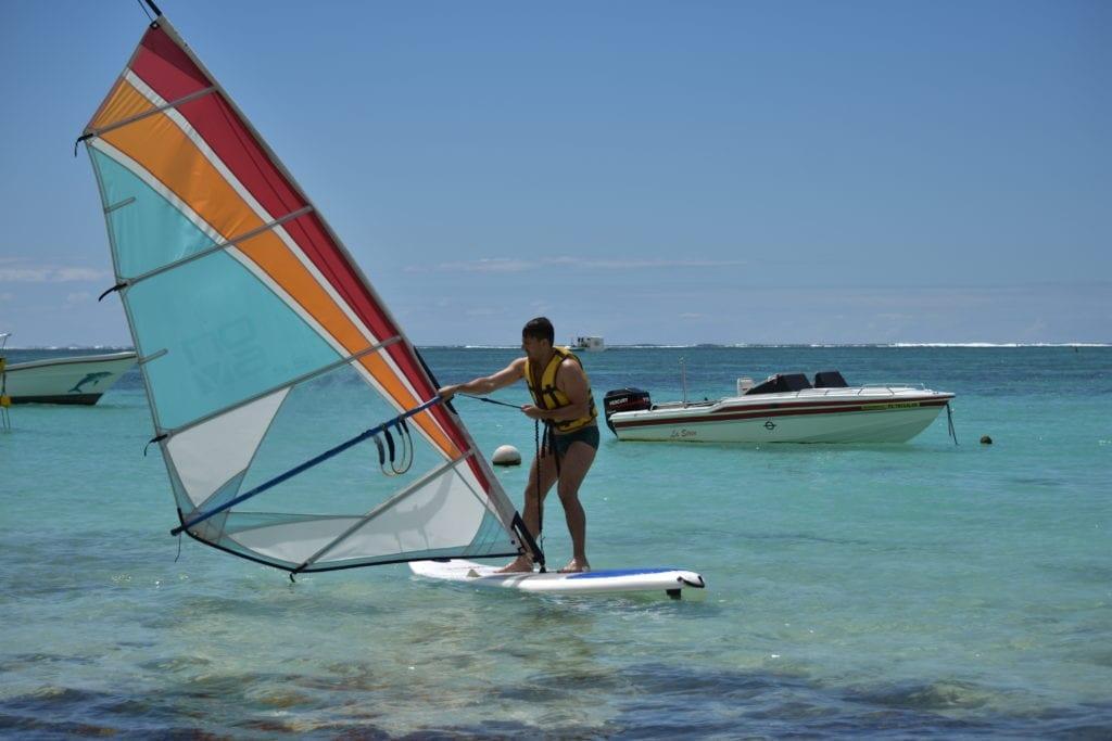 Windsurf - Belle Mare - Mauritius