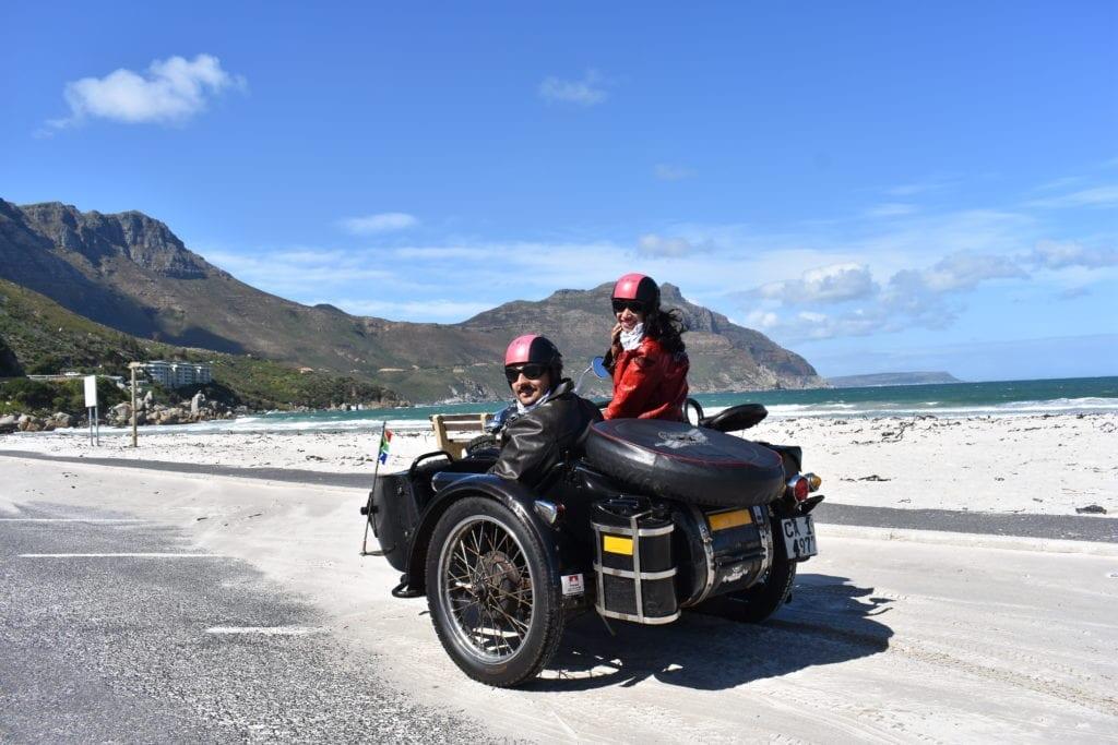 Sidecar: conhecendo Cape Town de um jeito bem diferente