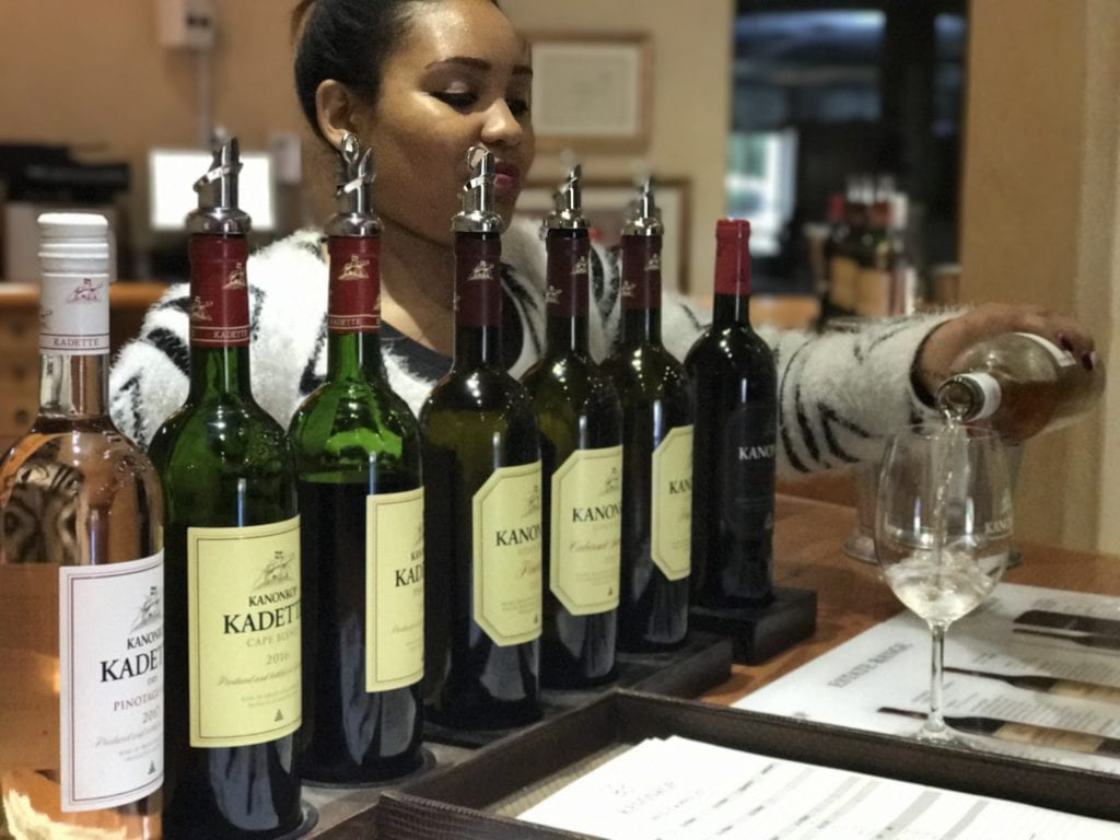Wine tasting - Kanonkop - Stellenbosh