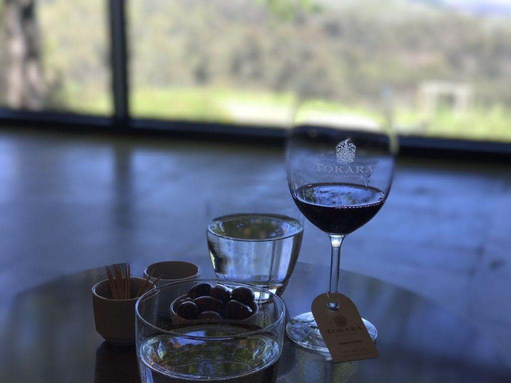 Wine tasting room - Tokara