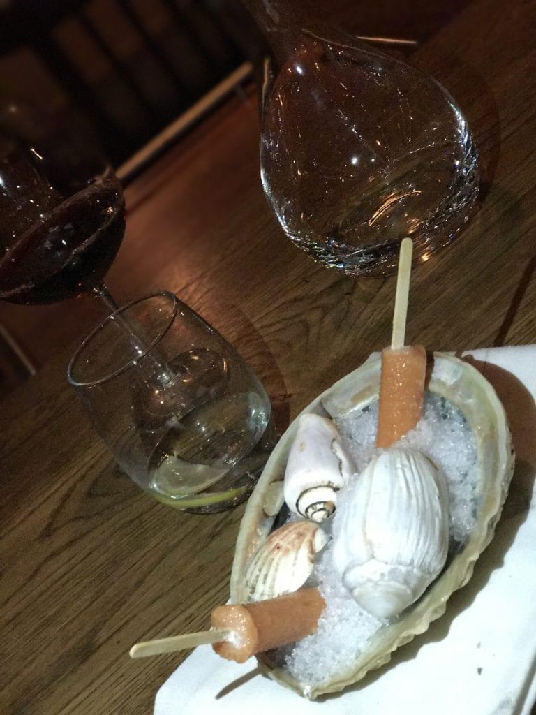 Menu degustação - Overture - Stellenbosh