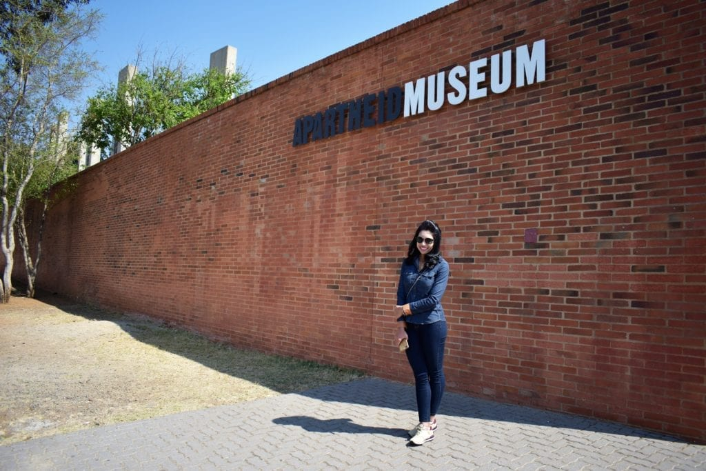 Museu do Apartheid - Joanesburgo