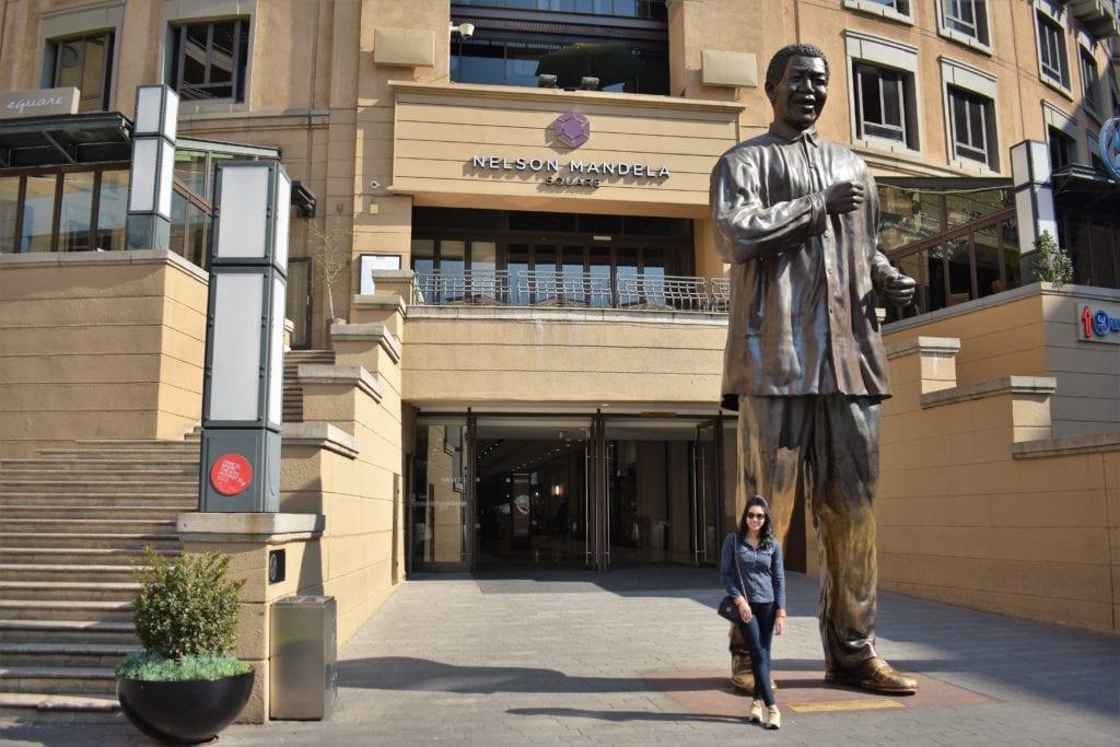 Nelson Mandela Square - Joanesburgo