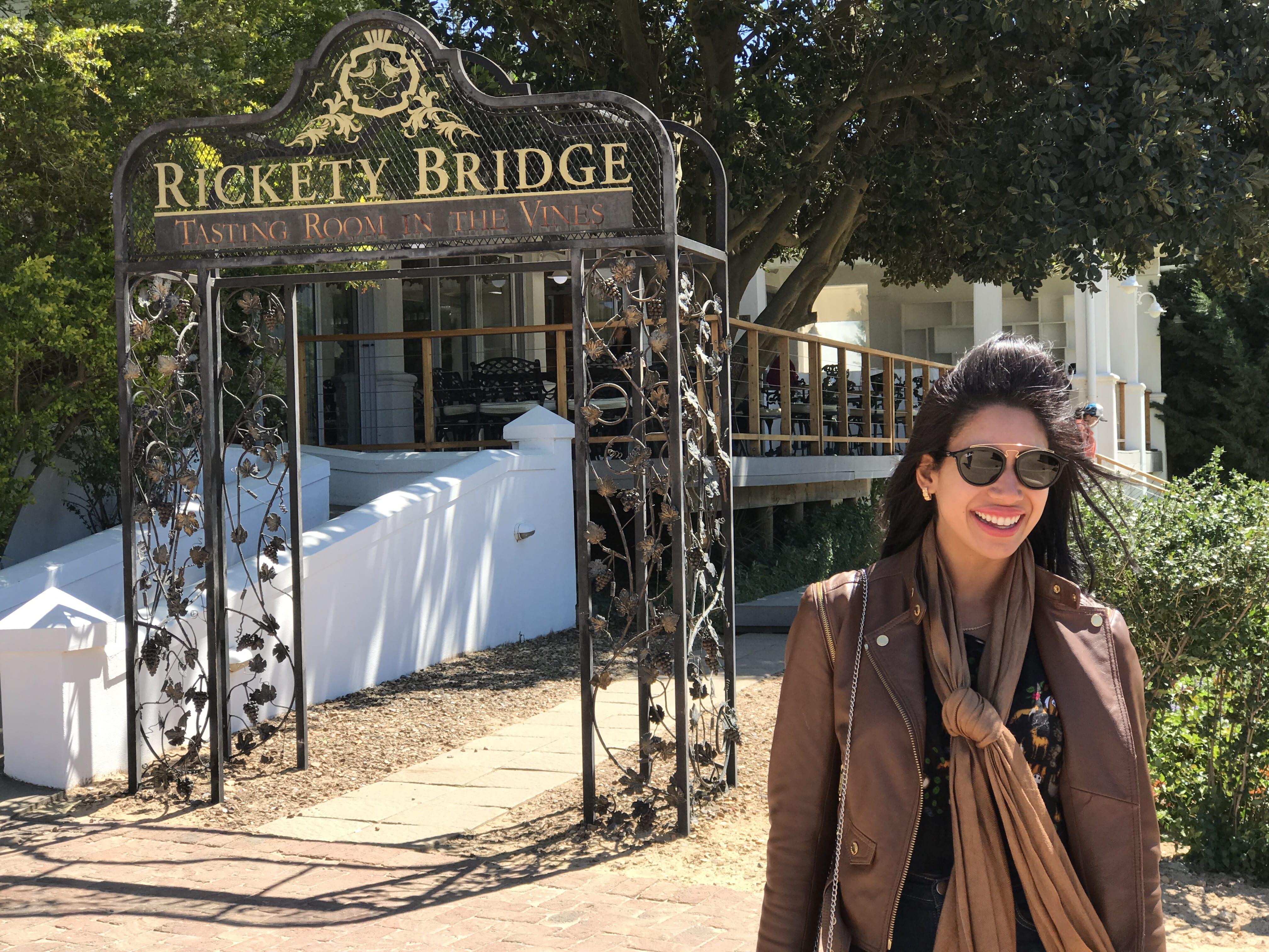 Franschhoek Richety Bridge (2)