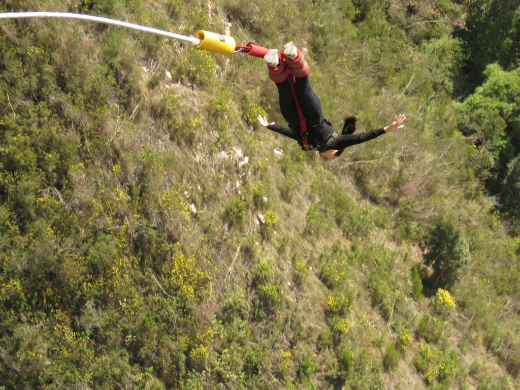 Bungee Jump - Storm River