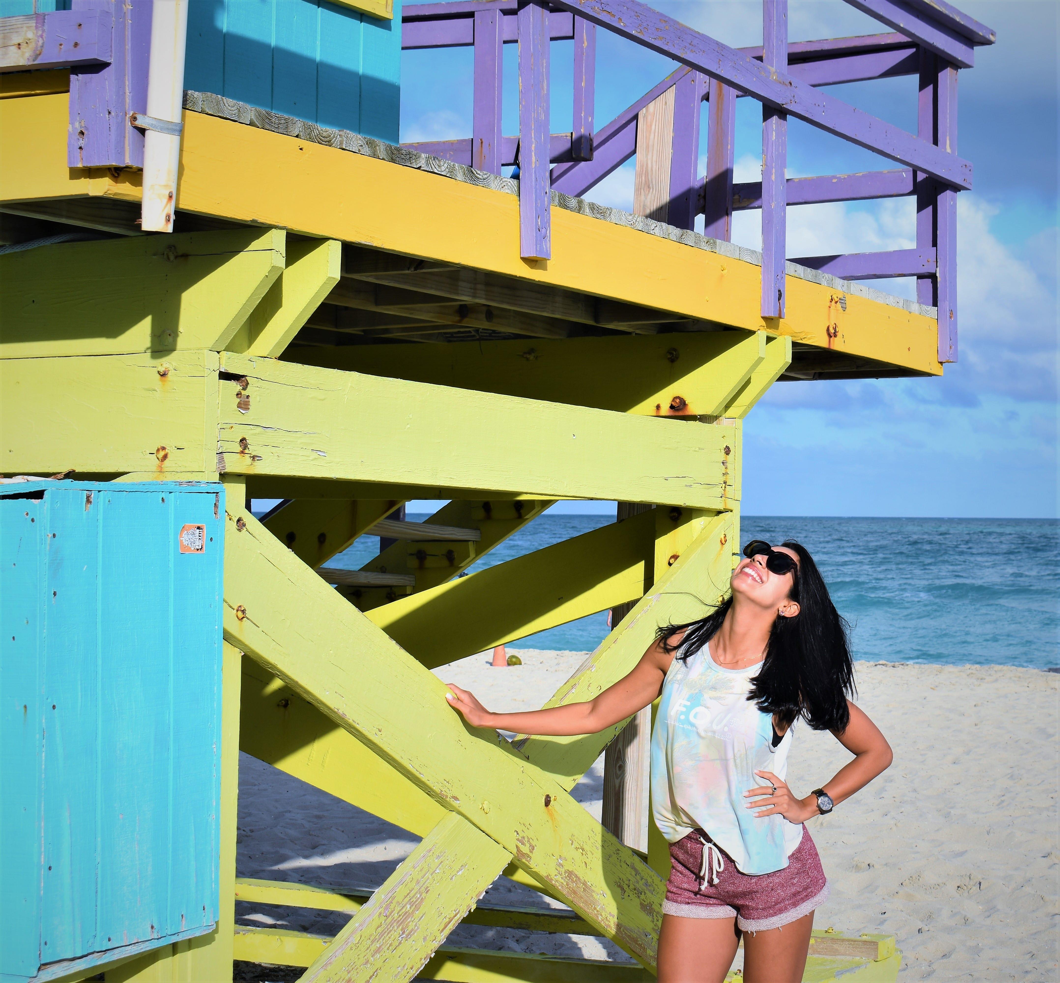 Clássica... Lifeguard em Miami Beach