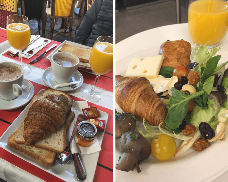 Onde comer em Paris: café da manhã parisiense