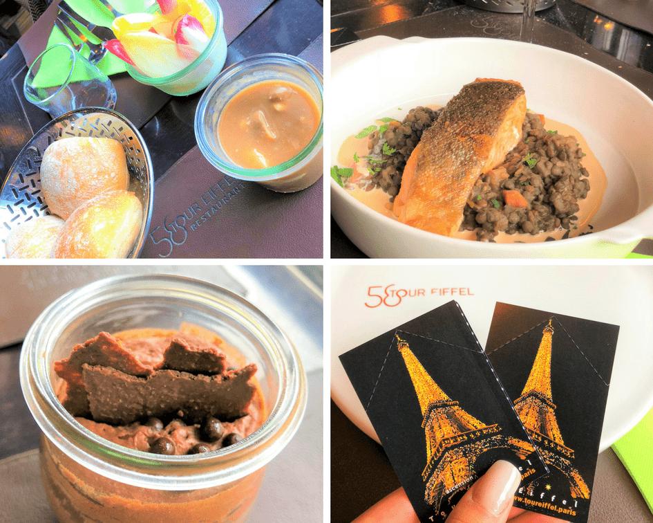 Onde comer em Paris: Restaurant 58 Tour Eiffel