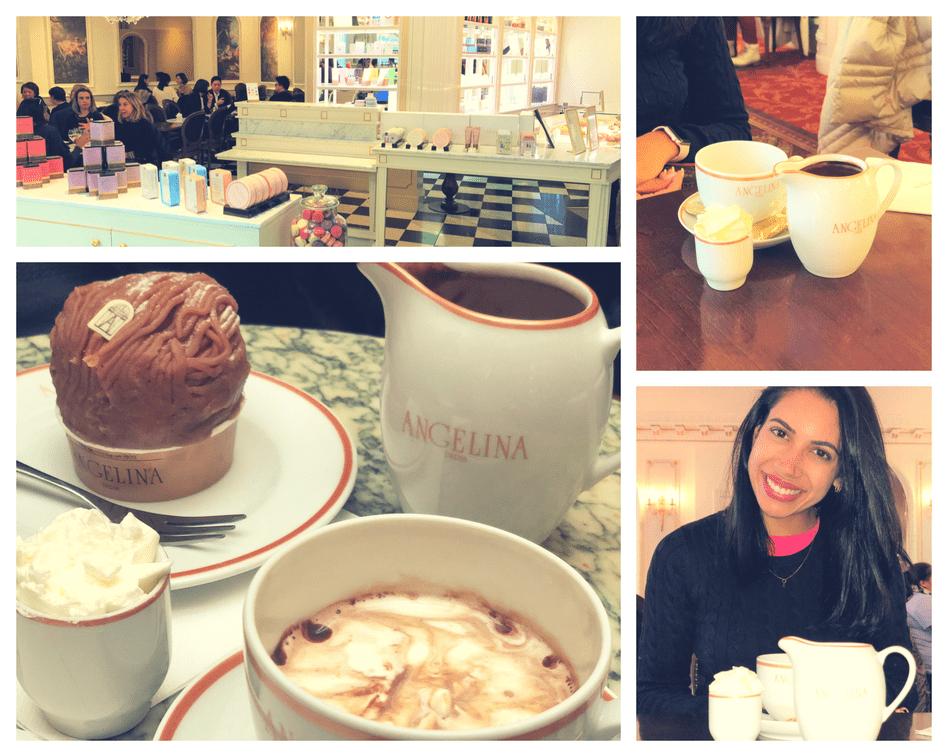 Onde comer em Paris: Angelina