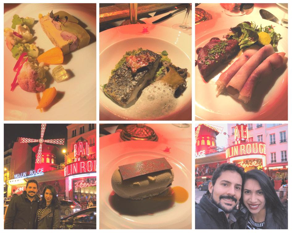 Onde comer em Paris: jantar no Moulin Rouge