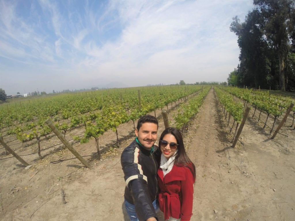 Santiago e suas lindas vinícolas. Não deixe de conhecê-las