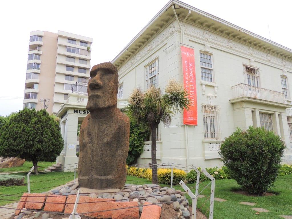 Vina del mar Museu Moai