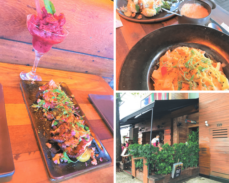 O que fazer no RJ: restaurante Via Sete