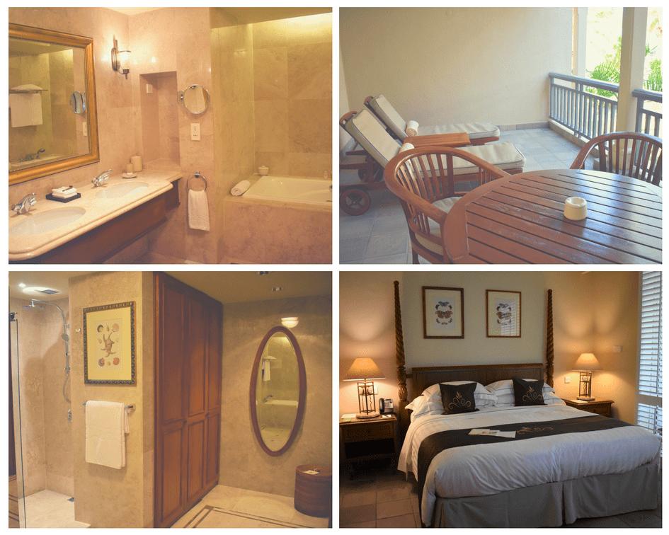 Banheiro, quarto e sacada - The Residence