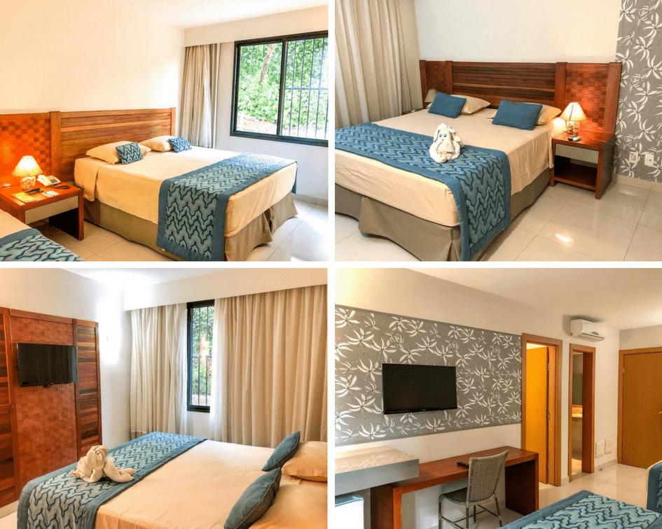 Quarto do hotel Flat I - Rio Quente Resorts