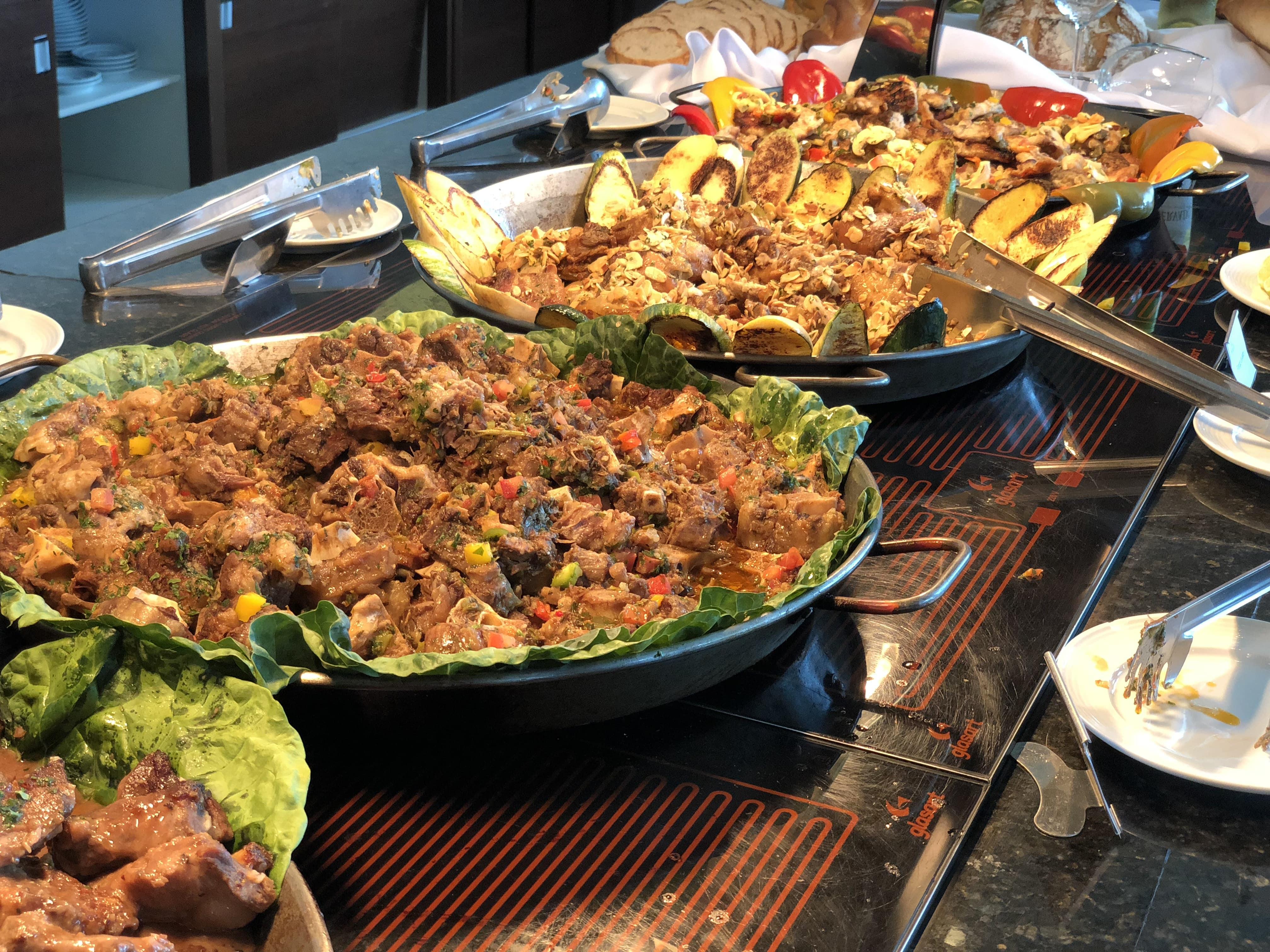 Malai Manso - Almoço