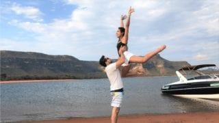 companhia da aventura - passeio de lancha pelo lago