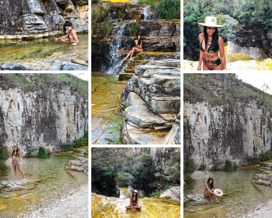 Cachoeira ao lado do Mirante dos Cânions
