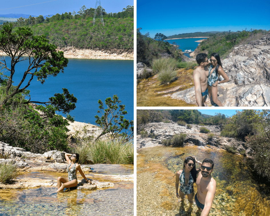 Parte superior da Cachoeira Lagoa Azul - Capitólio