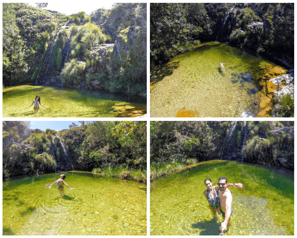 Cachoeira Lagoa Azul - Capitólio