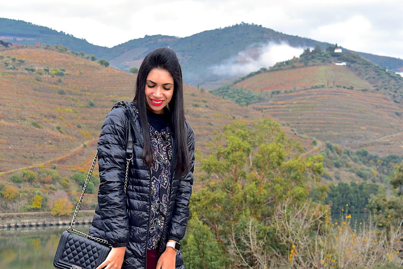 Vale do Douro: a vista para as vinhas | Foto: Anna